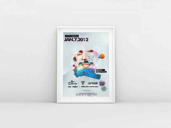 unseen creative studio poster flyer design west palm beach