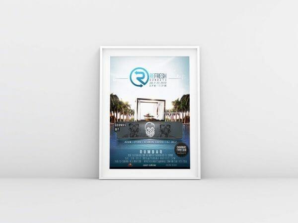 unseen creative flyer design west palm beach